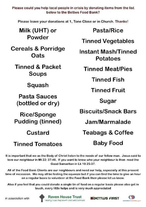 Bettws Food Bank